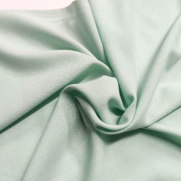ф4991 Креп Tiffany greenish blue (100% шерсть). Италия.