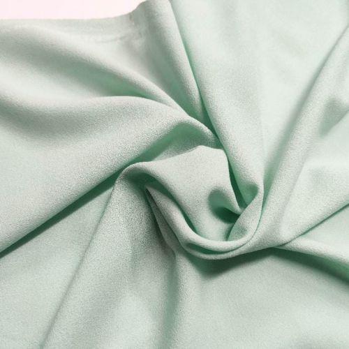 ф4991 Креп Tiffany greenish blue (100% шерсть). Италия.