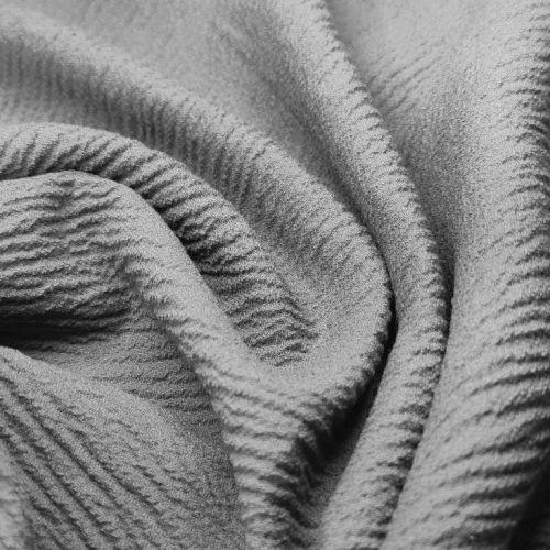 ф3303 Stella Mc Cartney Серый жатый креп