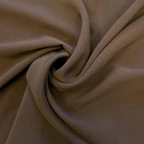 4447 Жатый коричневый крепдешин