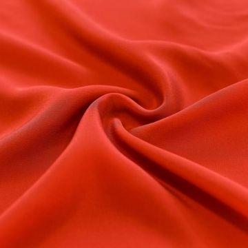 ф5299 Крепдешин Красная рябина (100% шелк).