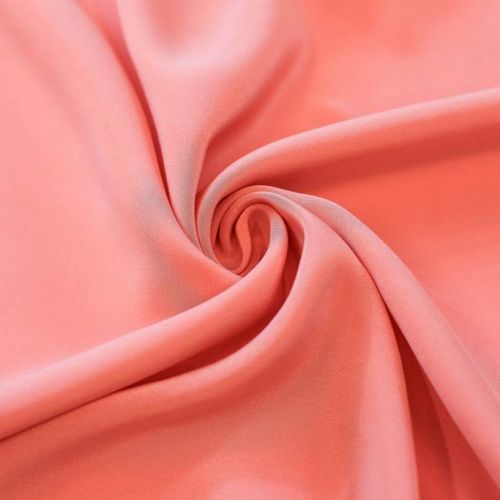 ф5300 Крепдешин Розовые облачка (100% шелк).