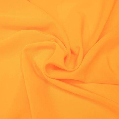 ф5311 Желтый крепдешин. (100% шелк).