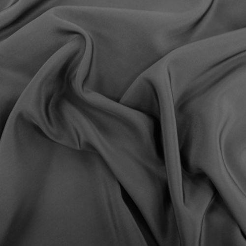 ф3092 Средне-серый крепдешин