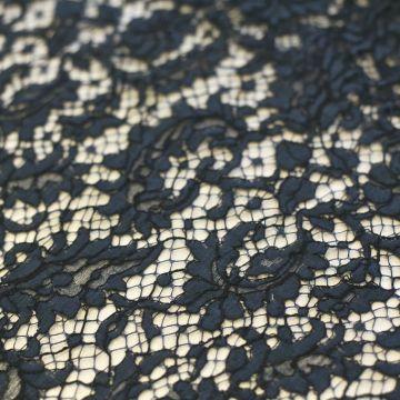 ф3372 Кордовое кружево с кудрявыми калачами цв Море в Провансе