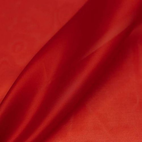 ф5217 Темно-красная органза (100% шелк).