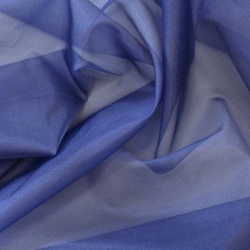 ф4539 Синяя органза