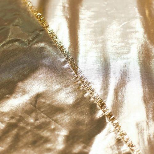 ф5167 Золотая органза (100% п/эстер).