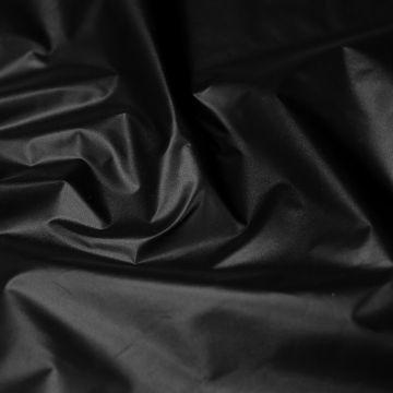 """ф5606 Prada. Черная плащевка """"тафта"""" ( 100% полиэстер)"""