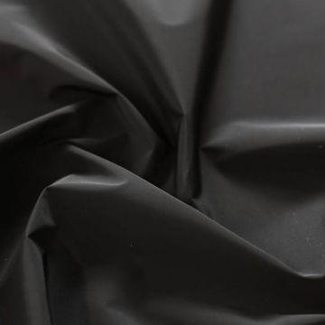 ф5597 Loro Piana. Черная плащевка с мембраной ( 100% полиэстер)