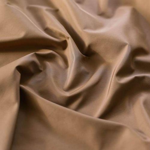 "ф5803 Loro Piana. Песочная плащевка ""Вареный шелк"" (100%шелк )"