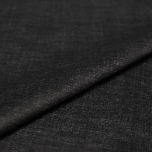 "ф0062 Черно-серая плащевка ""меланж"" (70%п/амид 30% тефлон). Италия"