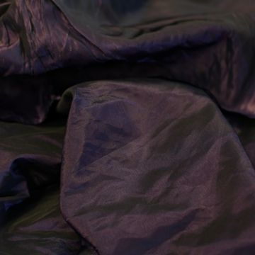 4271 Черно-фиолетовая непремомокаемая тафта