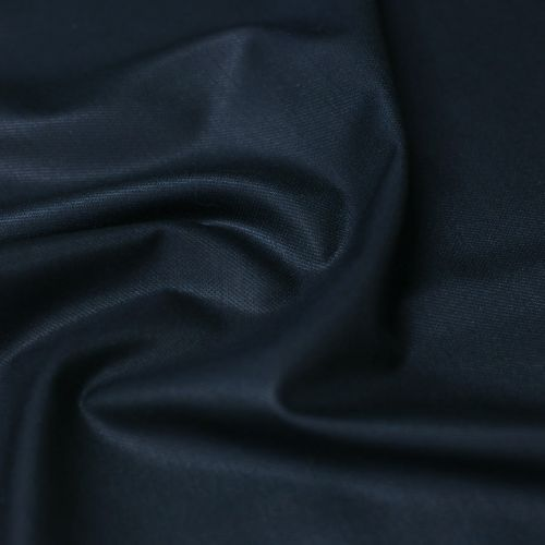 ф5722 Maх Mara. Темно-синяя плащевка с мелкой фактурой.(96% шелк 4%эластан)