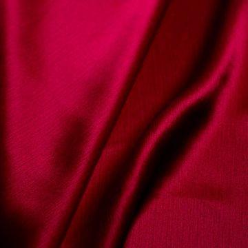 ф4787 Алая жатая ткань (100% шелк). Италия.