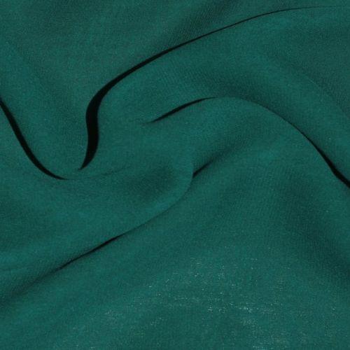 7802 Жоржет стрейч цвета морской волны.