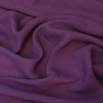 ф2656 Фиолетовый креп-жоржет