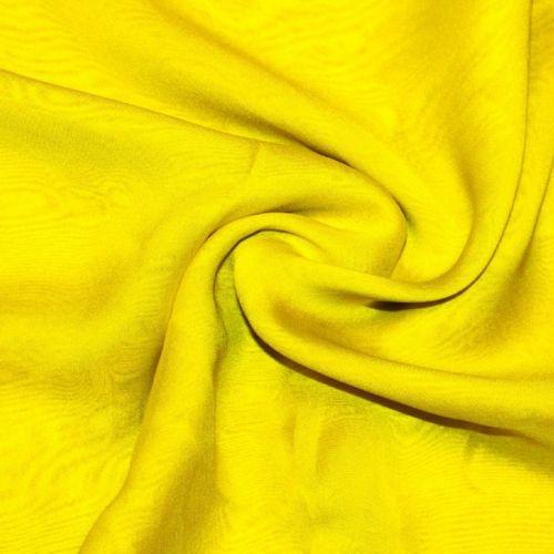 4087 Золотисто-лимонный шифон шанжан.