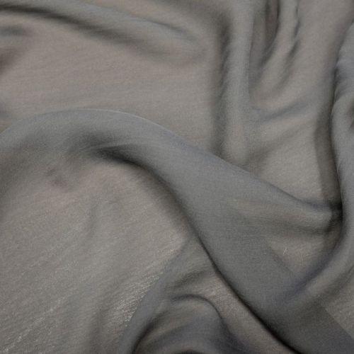 ф3125 Дымно-серый жоржет