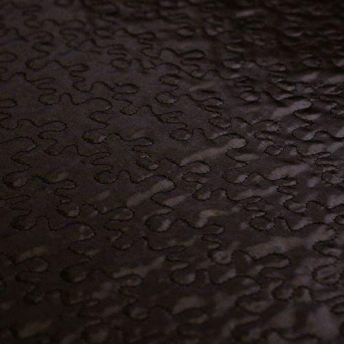 ф4867 Паззл-утеплитель черного цвета (100% п/эстер). Италия.