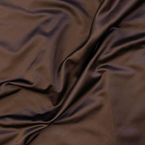 9117 Шоколадный дюшес (100% шелк).