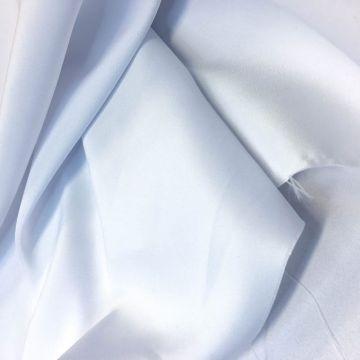 ф4111 Плотный белый сатен (100% п/эстер). Италия.