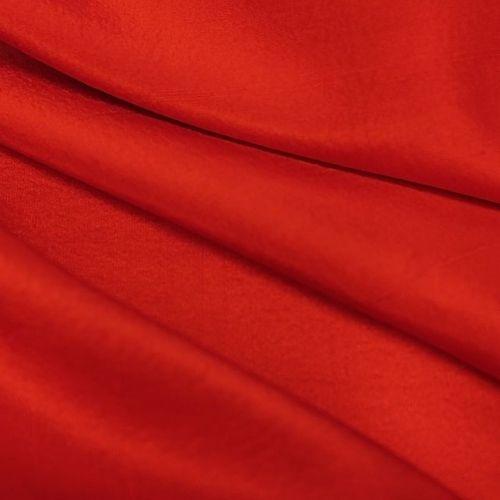 ф3126 Ярко-красный узелковый шелк