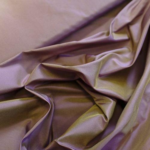 ф4578 Сиренево-золотистая тафта шанжан