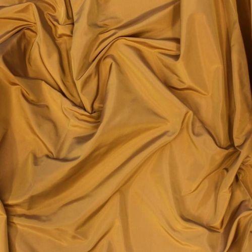 8549 Темная золотистая тафта (100% шелк).