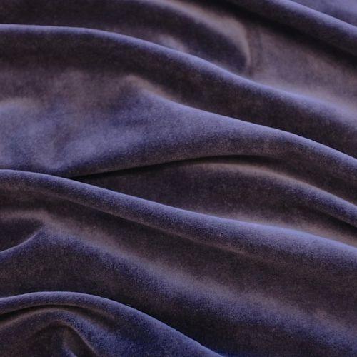 ф3195 Синий трикотажный велюр