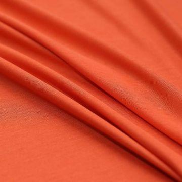 8839 Etro. Тонкий-претонкий оранжевый трикотаж (100% хлопок).