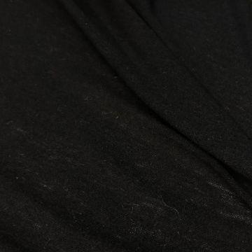ф0546 Loro Piana. Черный трикотаж (70% шерсть 30%кашемир), Италия.
