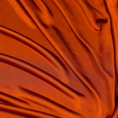 5753 Терракотово-оранжевый трикотаж (100% вискоза).
