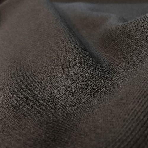 ф0640 Плотный серый трикотаж (40%хлопок 45% виск 15%п/а). Италия