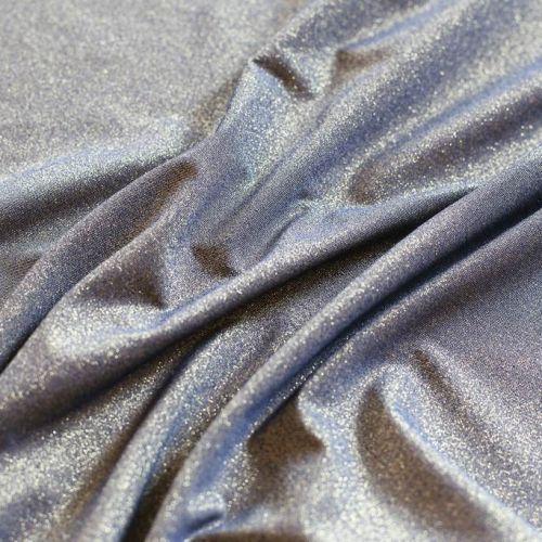 ф5703 Золотой трикотаж с синим отливом (55%полиэстер42%люрекс 3%эластан)