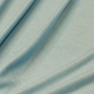 5638 Тонкий голубой трикотаж (100% хлопок). Италия